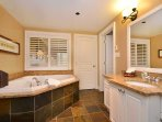 Master bathroom and ensuite