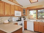 Large and bright kitchen on main floor