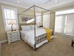 Third Floor King Master Bedroom