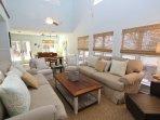 Living Room with LED SmarTV