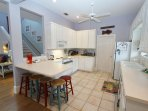 Barstool Seating in the Kitchen