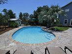 Large Back Yard Next to Pool - Event Friendly