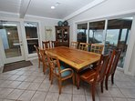 Dining and Living Area Have Fabulous Gulf Views