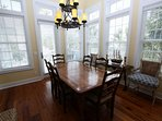 Dining Room with Side Chairs - Opens to Balcony