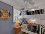 Bunk Bedroom - Ground Floor
