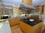 Seaforever - Main House Kitchen
