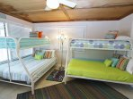 Bunk Bedroom With Separate Entrance
