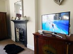 LED Smart TV, with Youtube and BBC iPlayer.