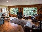 Open living room on main level