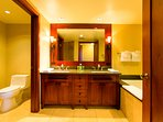 Master Bathroom with Dual Sinks