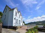 Bryn Hyfryd is an imposing Victorian house in a stunning location overlooking the Mawddach Estuary at Bontddu