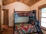 Bunk Bedroom Twin/Full + Twin under Full