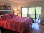 King Bed in Beautiful and Peaceful Master Bedroom
