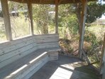 Screened Gazebo off Walkway