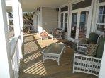 Expansive First Floor Oceanfront Porch