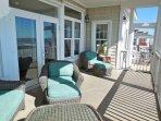 Second Floor Oceanfront Porch