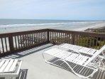 2nd Level Oceanfront Deck