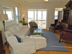 Living Room w/Deck Access & View