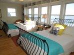 2nd Floor Queen Bedroom w/Gorgeous Ocean Views
