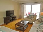 Living Room w/Deck Access