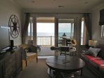Enjoy the ocean views from the Living Area!!