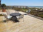 Large Oceanfront Deck