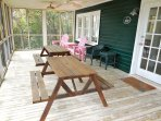 1st Level Screened Porch