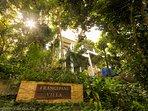 Frangipani Villa Entrance