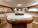 The Ohana Pacifc's Master Stateroom with private bath / shower