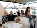 Crew Joyce & Captain Ken Captain Amos & Shari  Crew Annabelle