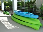 Kayaks for you to use