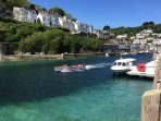 Take a boat ride from Looe.