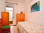 Dormitorio 3, una cama individual y terraza