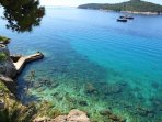 Refresh in the beautiful turquoise waters of the Adriatic sea!