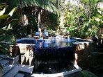 Yes this is you private pool oasis. Great sun year round and room for your imagination.