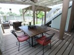 Whitecap - Outdoor Dining Table off Living Room