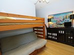 Kid Den - Bunk Bed with Double Sofa Below