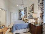 Each bedroom features a Smart TV.