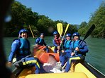 White water rafting on the Gave de Pau at Lourdes