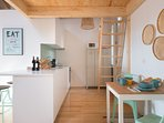 You will find a fully equipped kitchen