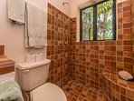 Upstairs king bathroom