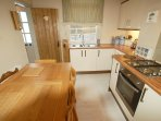 Kitchen on Ground Floor well equipped with amenities