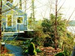 Paradise Cottage in early spring when things are beginning to pop