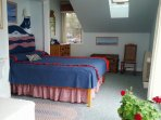 The second bedroom at Seanook, year-round rental in East Boothbay, Maine