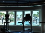 You will have a workout with a view