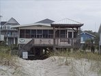 Pic. of house taken from beach