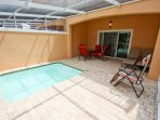 Large Lanai, Private Splash Pool & No Rear Neighbors; Pool Access From Living Room