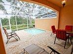 Private Splash Pool w/Patio Seating & Sun Loungers