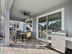 vacation home resorts orlando with grill setup