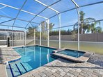best vacation homes in orlando fl with grill steup in private pool